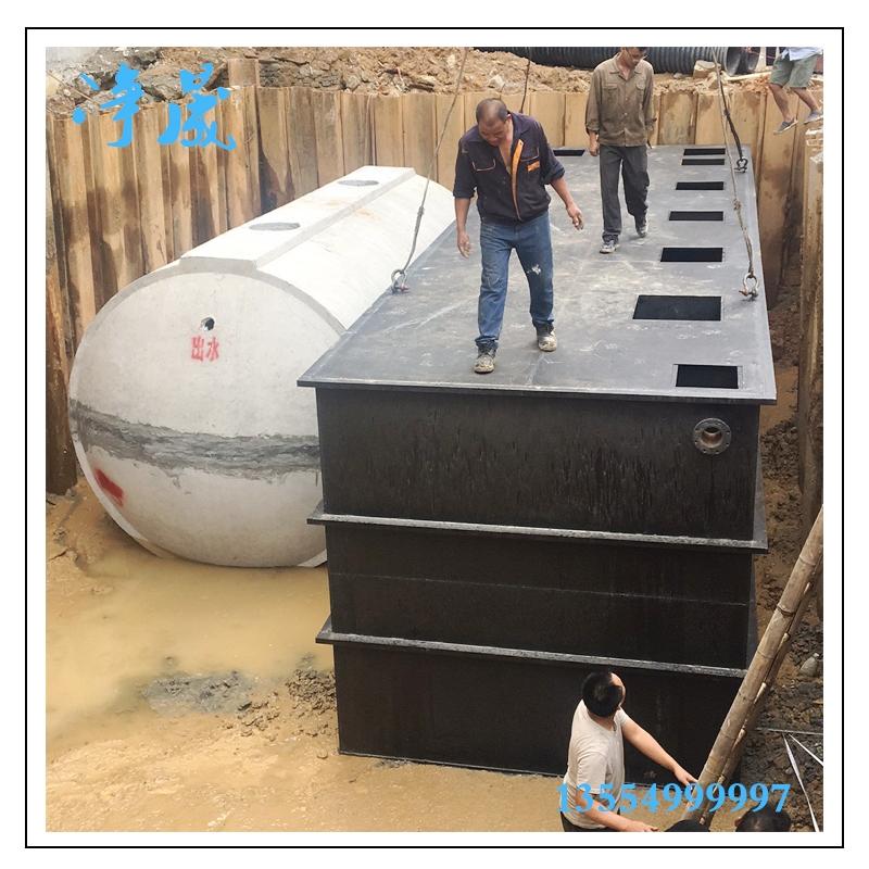 25m³/h碳钢污水处理设备