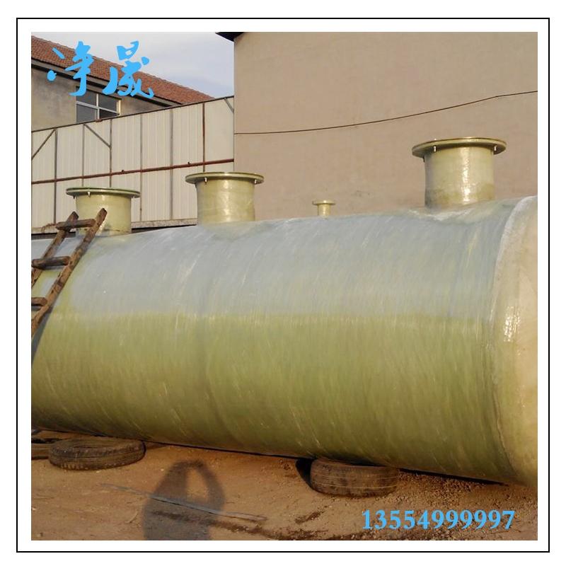 100吨玻璃钢污水处理设备