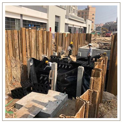 石丰路保障性住房项目——雨水收集回用系统