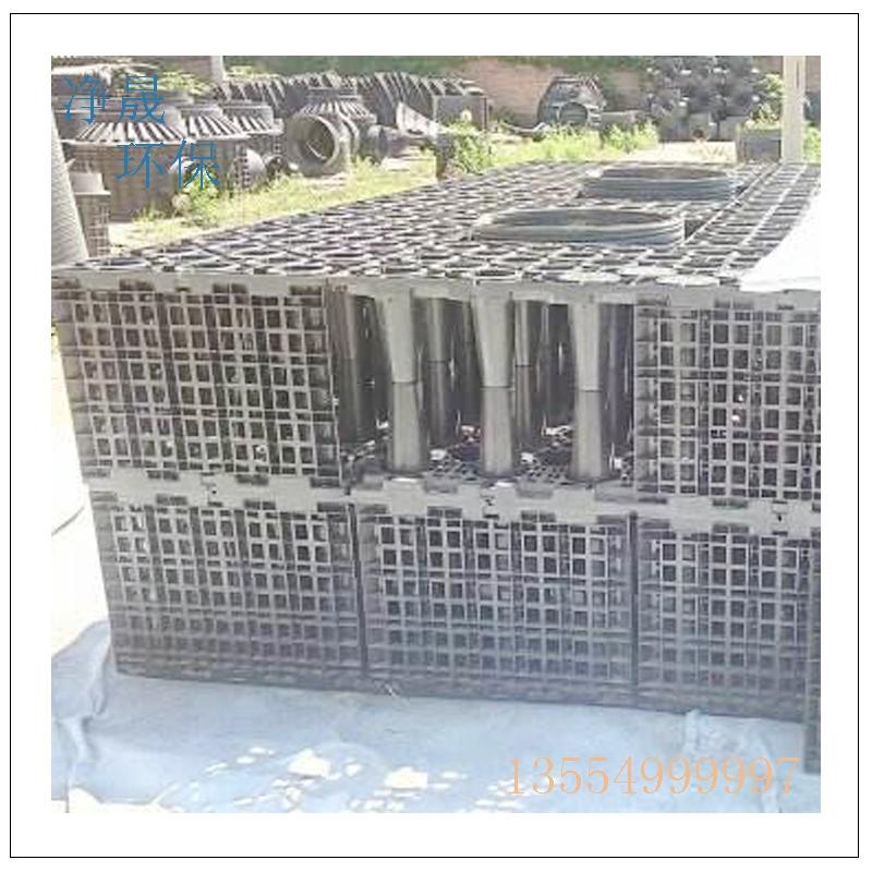 100立方pp模块雨水收集系统