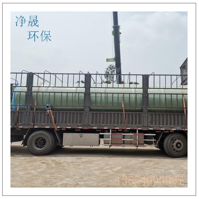 小型一体化污水提升泵站