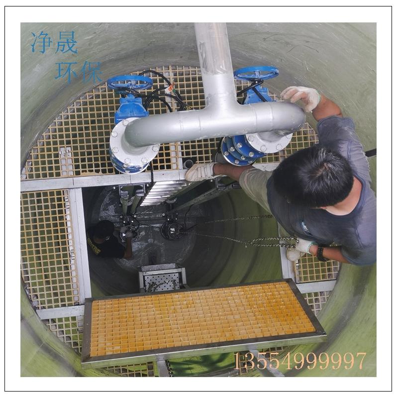 半地下式一体化污水提升泵站