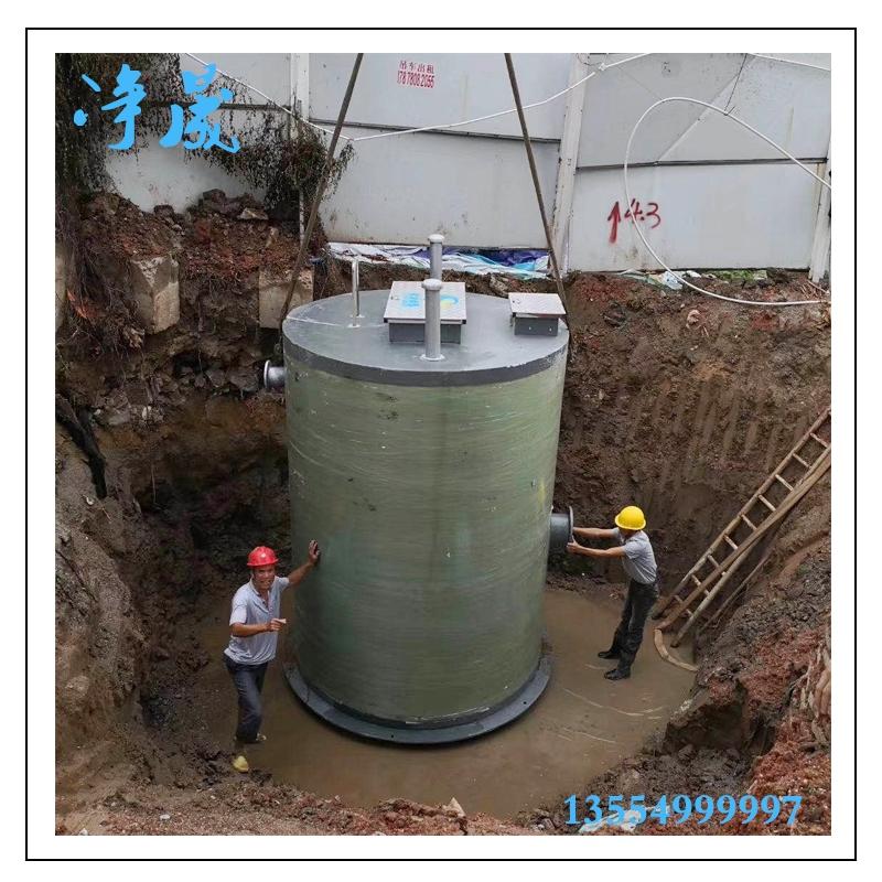 定制化污水提升泵站