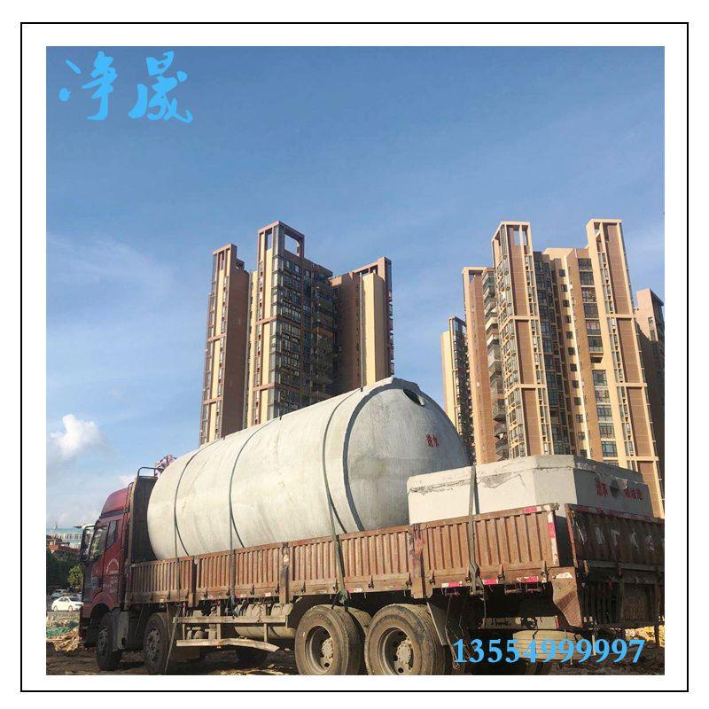 50立方钢筋混凝土雨水收集系统