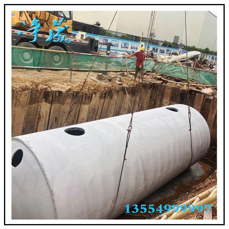 250立方钢筋混凝土雨水收集系统
