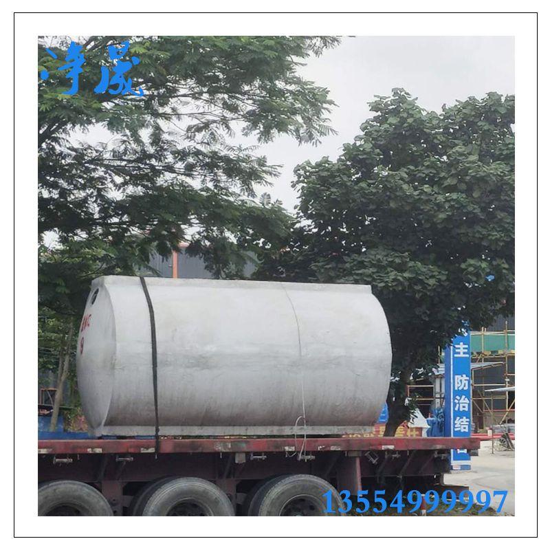 500立方钢筋混凝土雨水收集系统